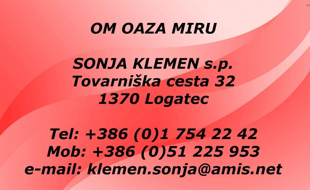 Om oaza miru, masaža, Logatec gallery photo no.0