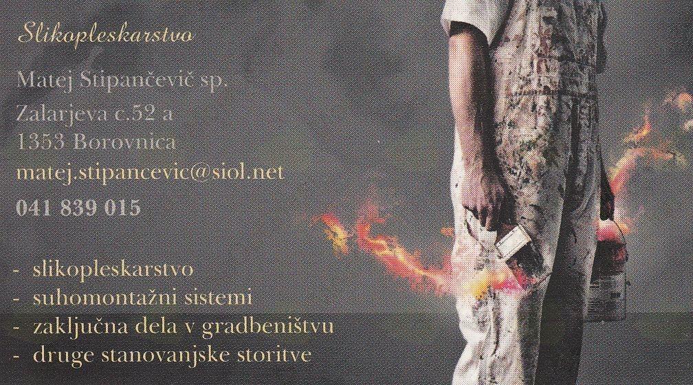Slikopleskarstvo Matej Stipančević s.p., Borovnica gallery photo no.0