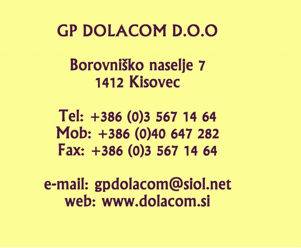 Dolacom, gradnja na ključ, Zagorje, Zasavje, Celje, Ljubljana okolica gallery photo no.0