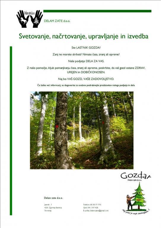 Gozdar DELAM ZATE, Zgornja Besnica gallery photo no.3