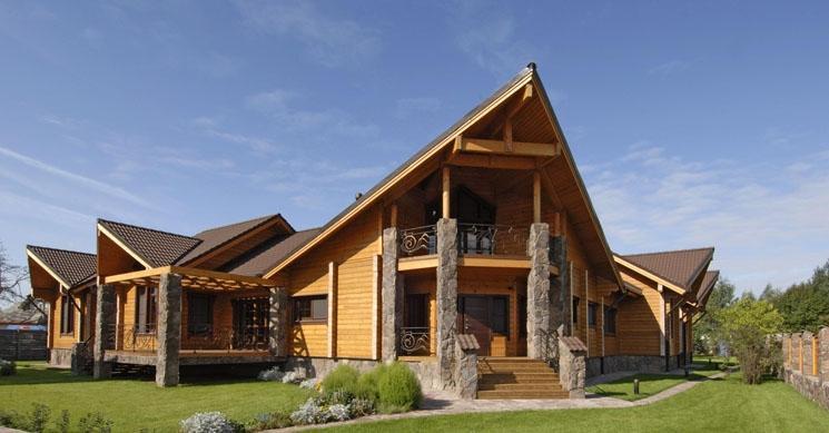 Svetovne brunarice KONTIO, lesene hiše, Trebnje gallery photo no.8