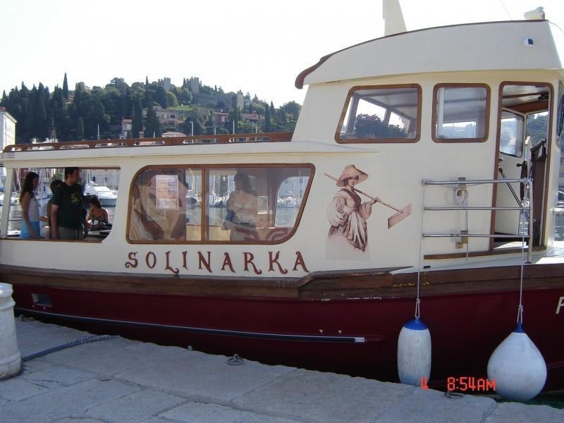 Vožnja z ladjico Solinarka, Obala gallery photo no.0
