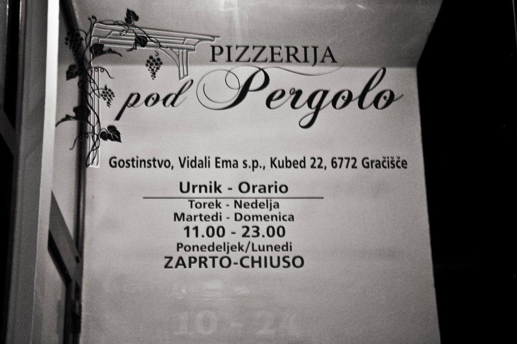 Pizzeria, picerija, pice, pod Pergolo, Koper, Obala gallery photo no.2