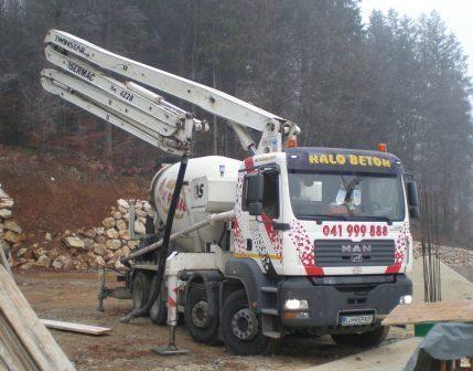 Halo beton, proizvodnja betona, Trebnje, Dolenjska gallery photo no.3