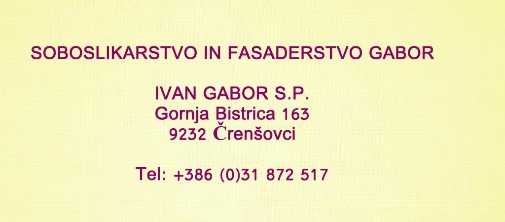 Soboslikarstvo in fasaderstvo GABOR, Murska Sobota gallery photo no.0