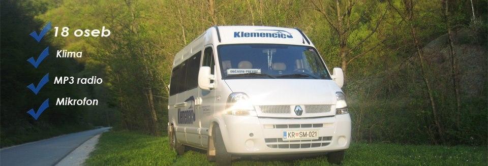 Avtobusni in kombi prevozi Klemenčič, Gorenja vas gallery photo no.6