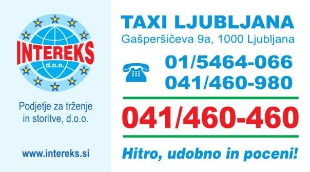 Taxi Intereks, Ljubljana gallery photo no.1