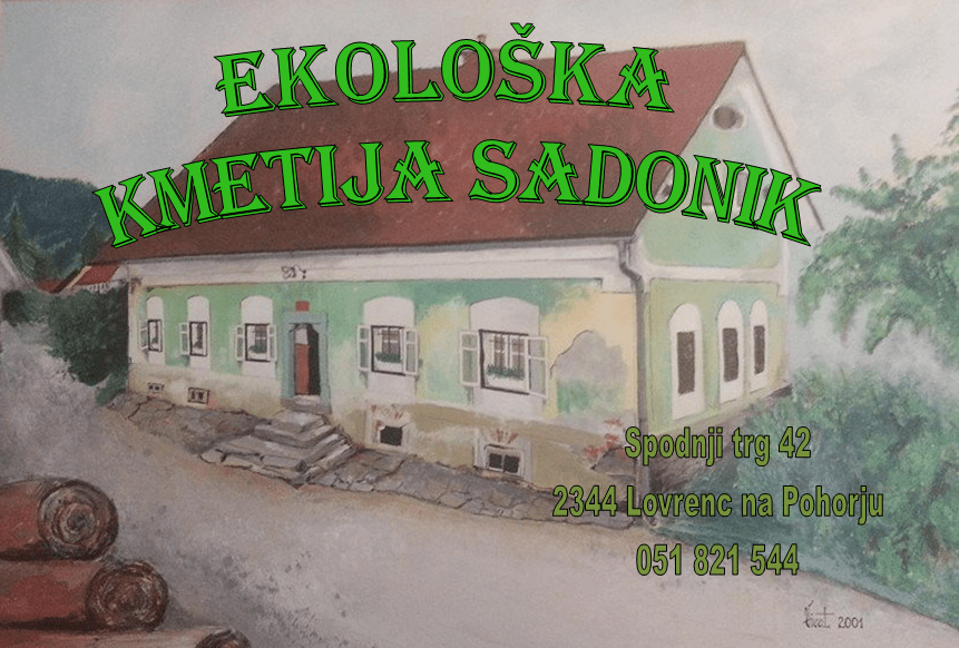 Ekološka kmetija SADONIK, Lovrenc na Pohorju gallery photo no.0