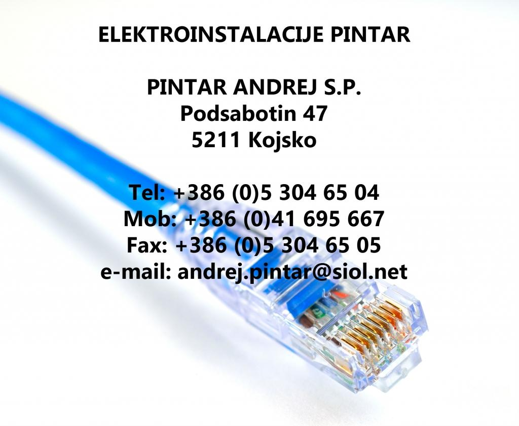 Elektroinstalacije Pintar, Kojsko Goriška gallery photo no.0