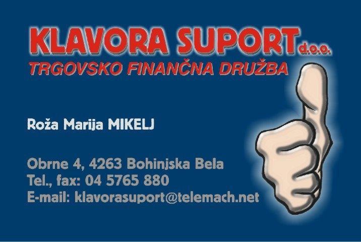 Računovodski servis Računovodstvo Klavora Suport gallery photo no.0