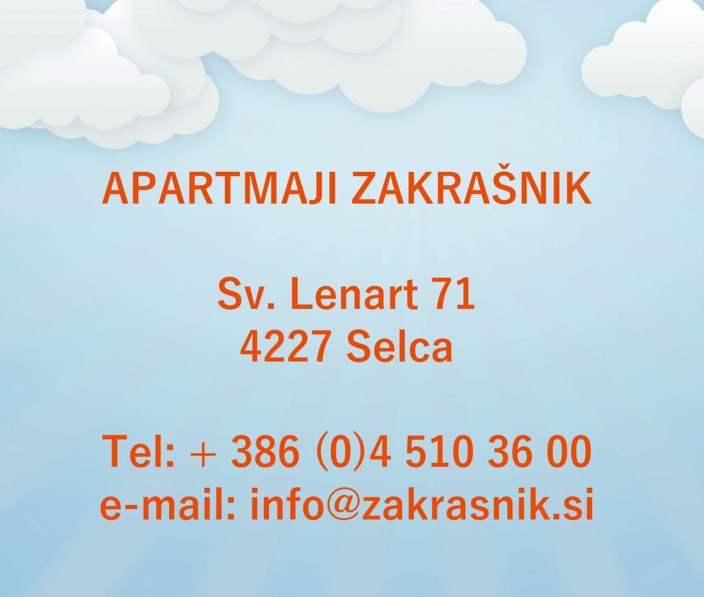 Apartments, Rooms, Zakrašnik, Škofja Loka, Gorenjska gallery photo no.0