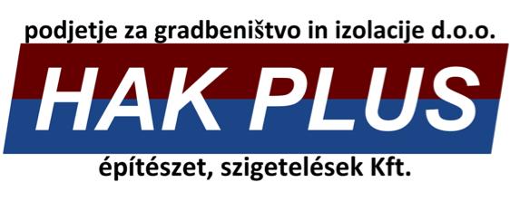 Hidroizolacije Obnova objektov, Hak plus, Slovenija, Pomurje gallery photo no.0