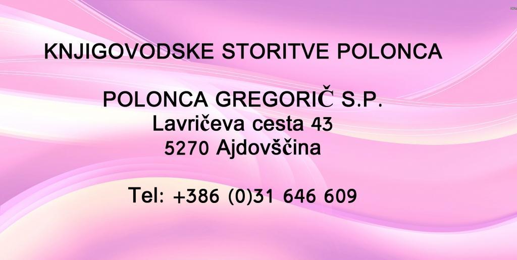 Knjigovodske storitve Polonca, računovodstvo, Ajdovščina gallery photo no.0