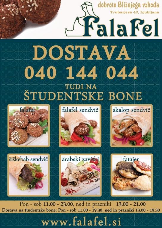 Arabska hrana, Bližnj vzhod, Dostava hrane Abi Falafel, Ljubljana gallery photo no.10