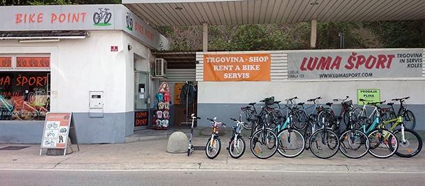 Luma Šport rent a bike (kolesarski izleti, prodaja, servis in izposoja koles), Piran gallery photo no.7