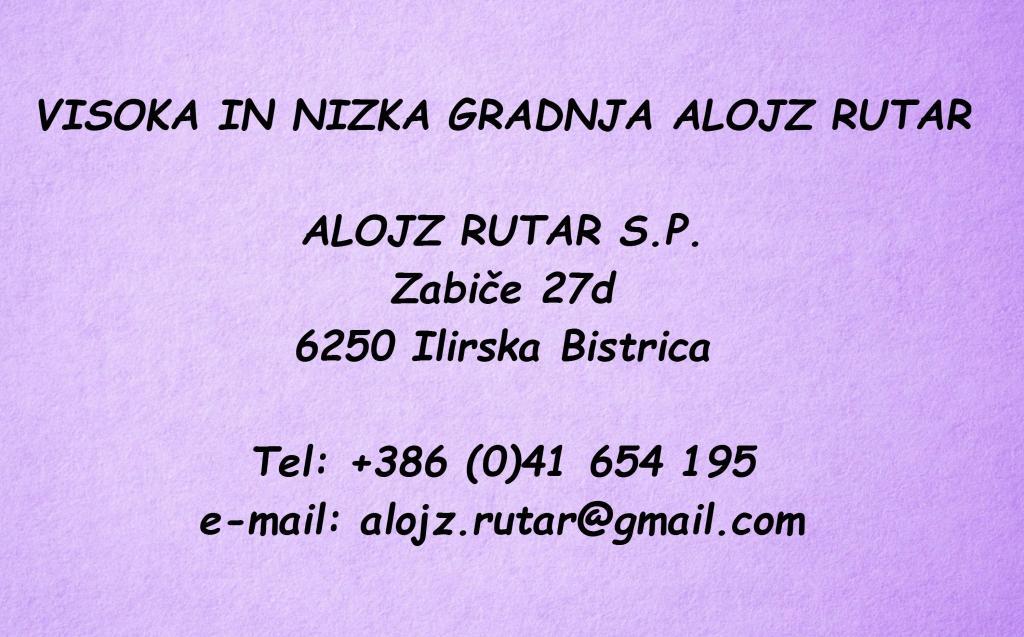 Gradbeništvo Alojz Rutar, Ilirska Bistrica gallery photo no.0