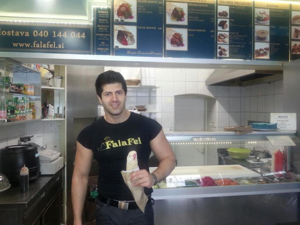 Arabska hrana, Bližnj vzhod, Dostava hrane Abi Falafel, Ljubljana gallery photo no.4