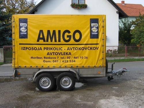 Izposoja prikolic AMIGO Maribor, ciscenje fasad, streh, tlakovcev Maribor gallery photo no.1