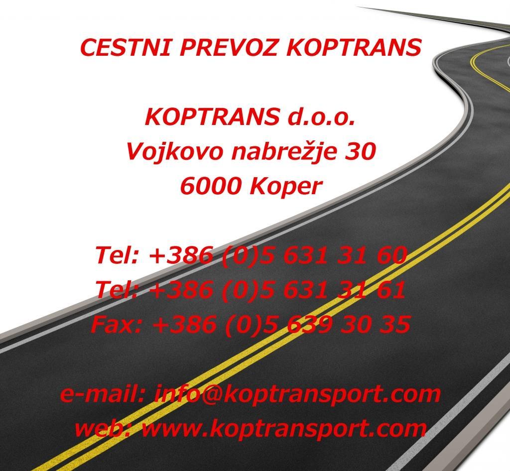 Cestni prevoz Koptrans, Koper gallery photo no.0