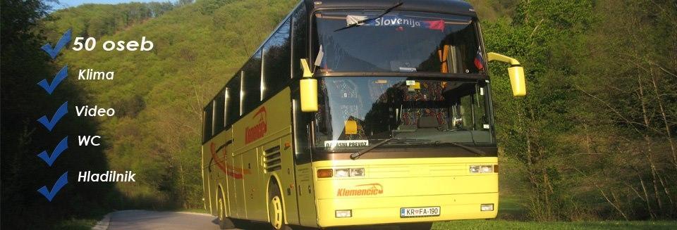 Avtobusni in kombi prevozi Klemenčič, Gorenja vas gallery photo no.4