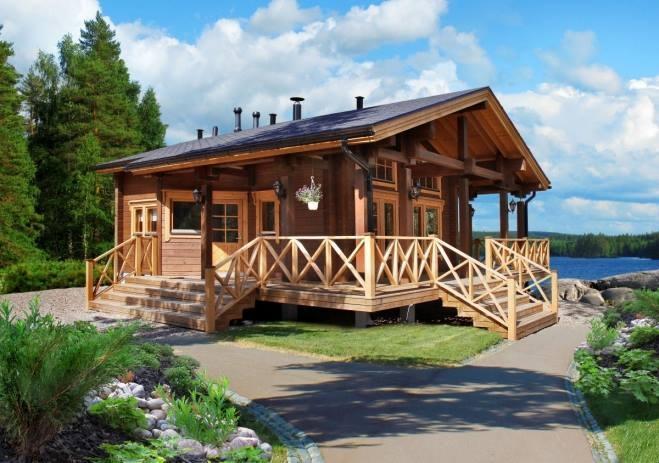 Svetovne brunarice KONTIO, lesene hiše, Trebnje gallery photo no.4