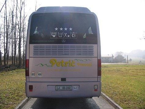 Avtobusni prevozi - Petrič prevozi d.o.o., Ljubljana gallery photo no.3