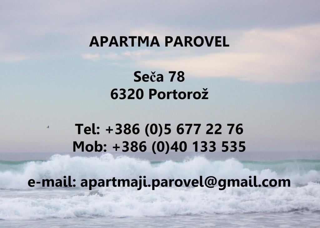 Apartma Parovel, Portorož gallery photo no.0