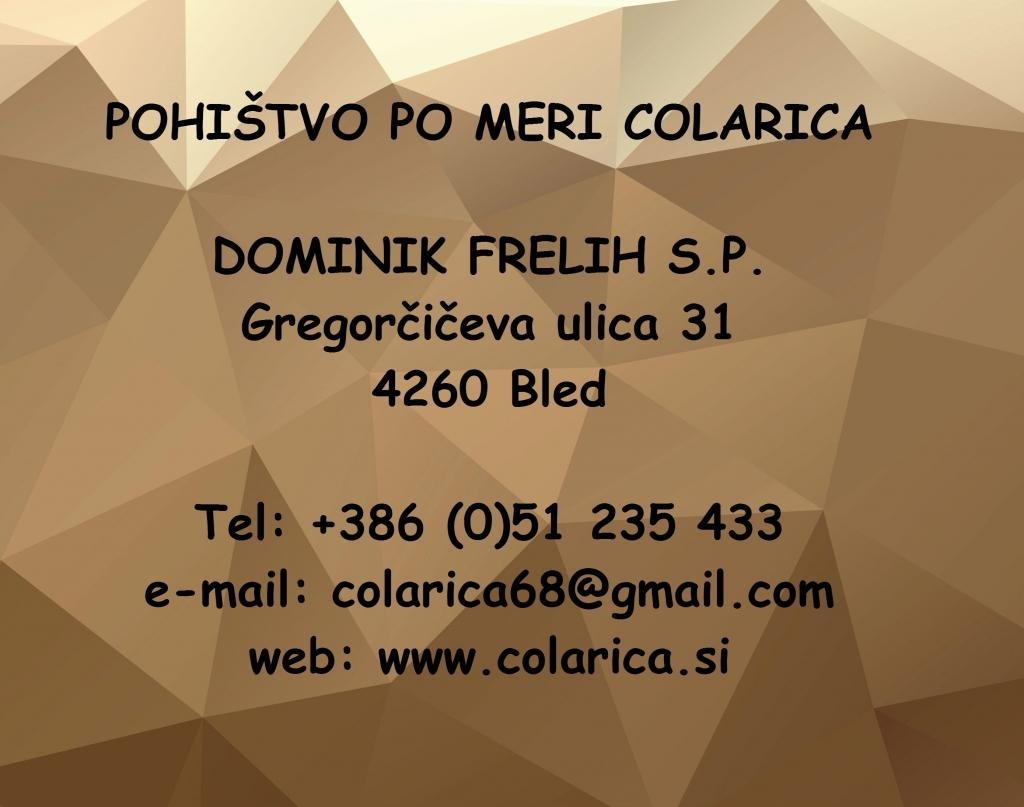 Colarica, pohištvo po meri, Bled gallery photo no.0