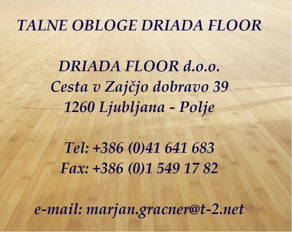 Driada Floor, Talne obloge, Ljubljana gallery photo no.0