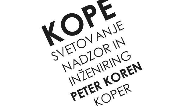 Peter Koren, s.p. - KOPE, svetovanje, nadzor in inženiring, Koper gallery photo no.0