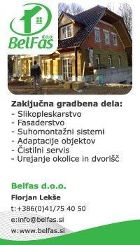 Zaključna gradbena dela Belfas d.o.o., Krško gallery photo no.0