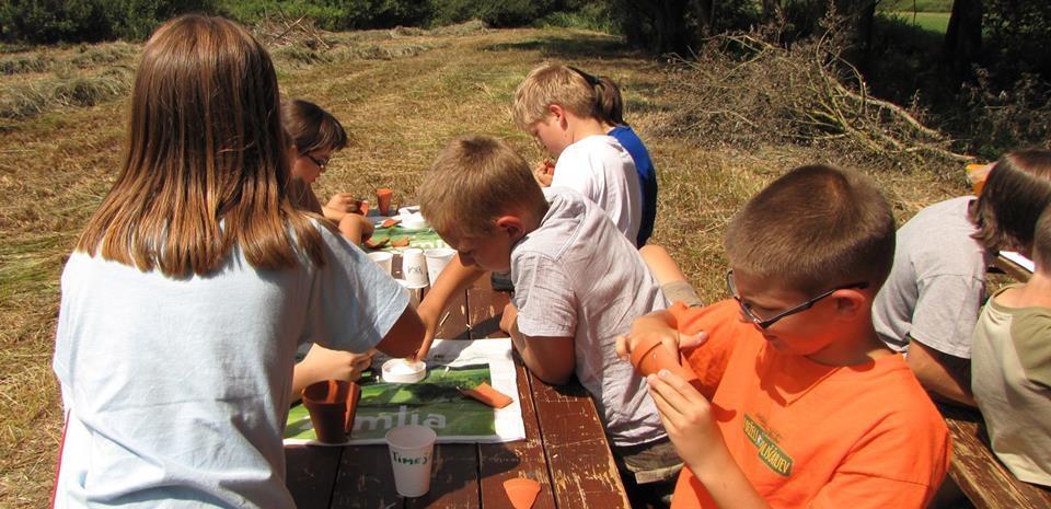Arheološke izkustvene delavnice za otroke gallery photo no.3