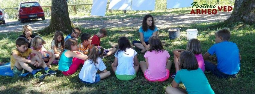 Arheološke izkustvene delavnice za otroke gallery photo no.11