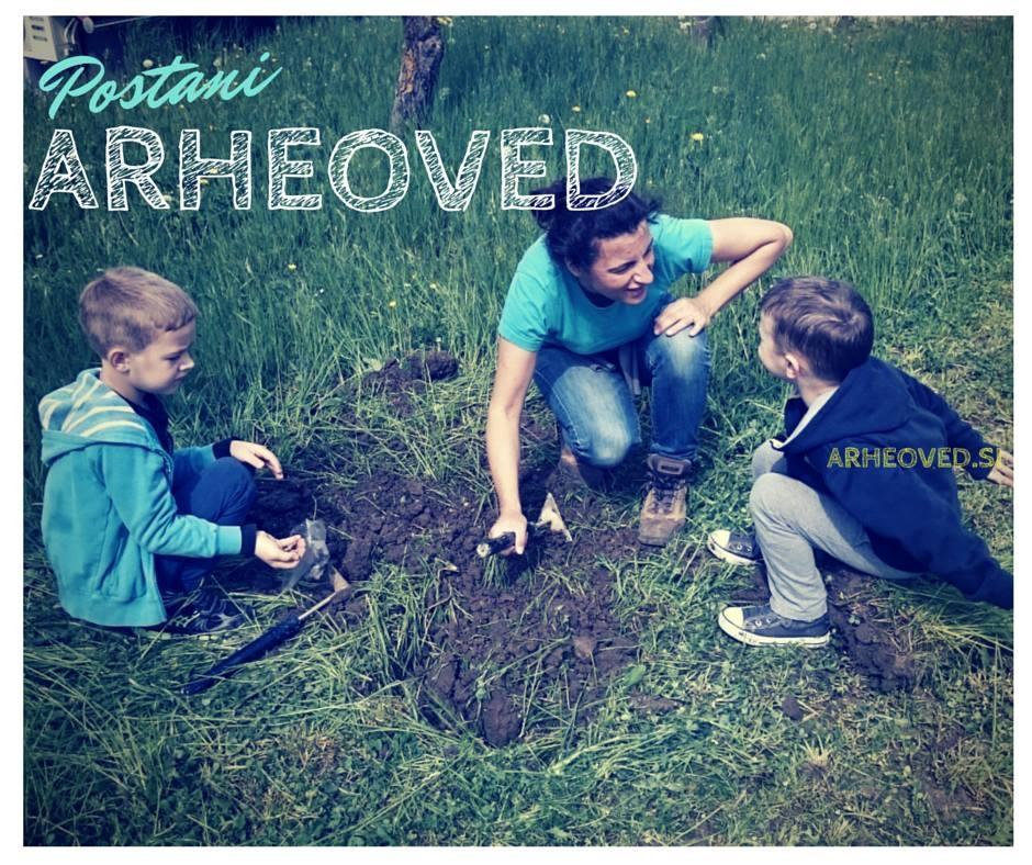 Arheološke izkustvene delavnice za otroke gallery photo no.9