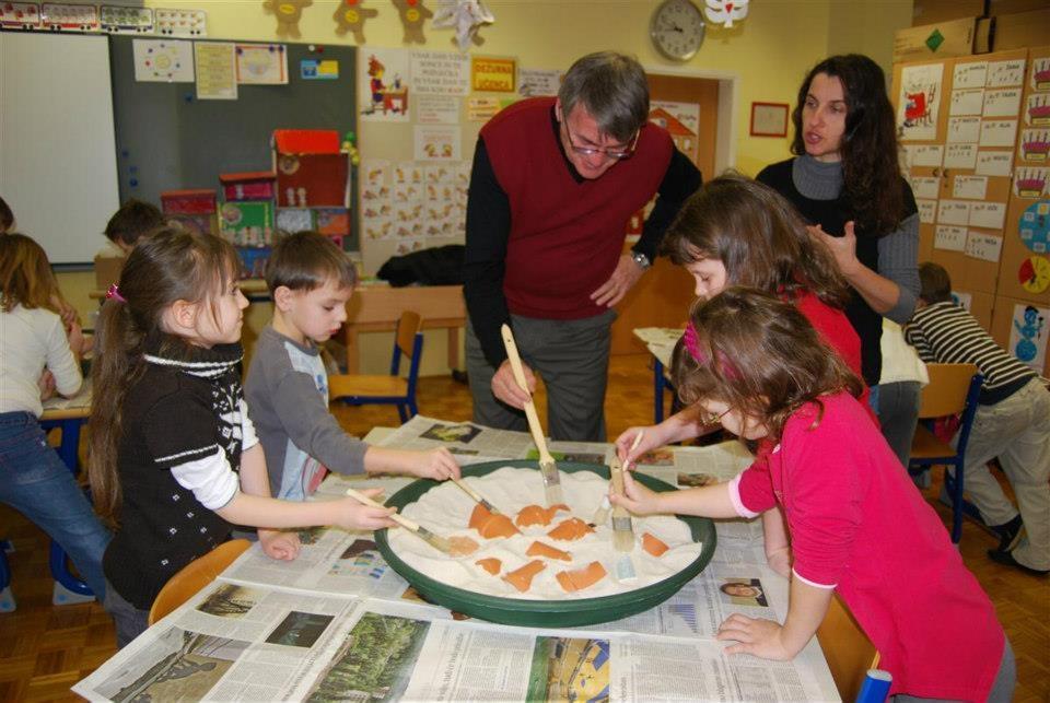Arheološke izkustvene delavnice za otroke gallery photo no.20