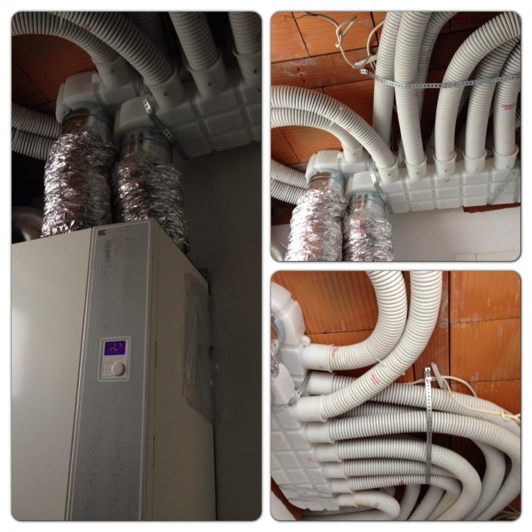 Delovanje, montaža toplotne črpalke, prezračevanje z rekuperacijo, pametne inštalacije gallery photo no.13