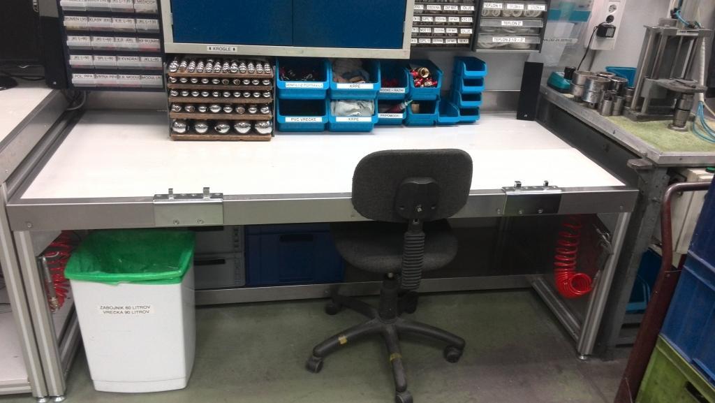 Ključavničarstvo, izdelava delovnih pultov, avtomatizacija delovnih strojev, transportni vozički po naročilu gallery photo no.6