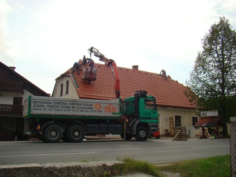 Betonski izdelki, strešniki Polak gallery photo no.15