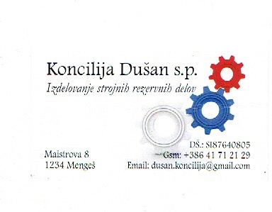 CNC rezkanje, CNC struženje Koncilija Dušan s.p. gallery photo no.0