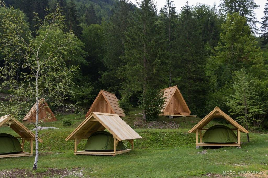 Camp Korita Soča Slovenia - glamping Soča, glamping Bovec, glamping Slovenija, camping Bovec gallery photo no.24