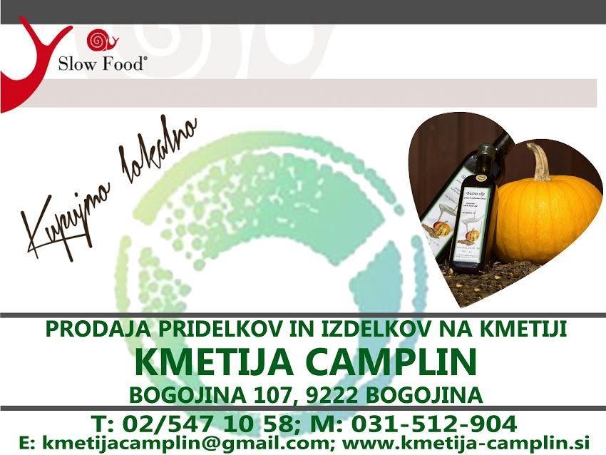 Domače bučno olje - Kmetija Camplin, Prekmurje gallery photo no.1