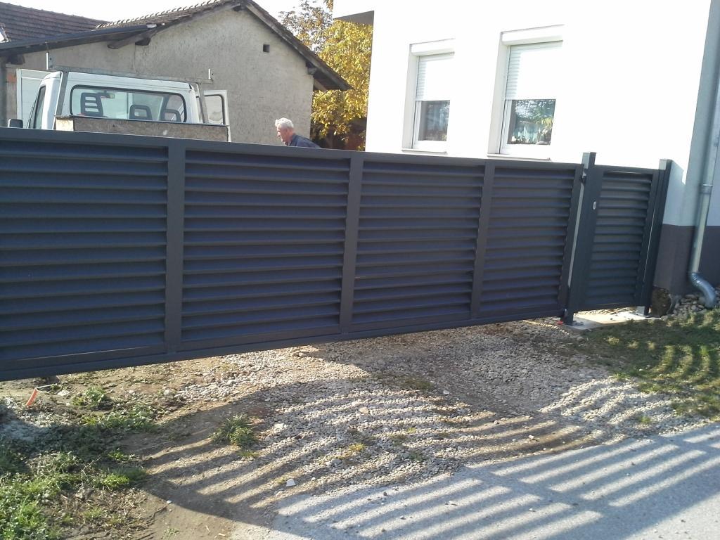 Dvoriščna, lamelna drsna vrata, Štajerska gallery photo no.11