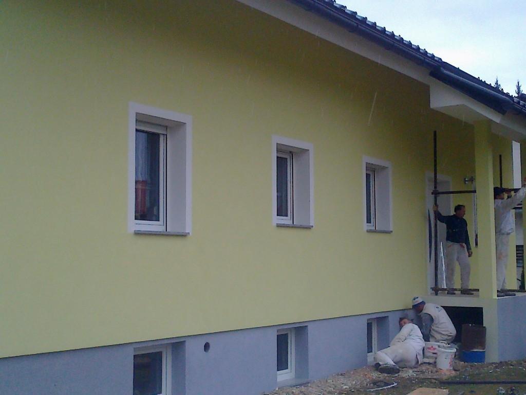 Fasade, strojni ometi, tlaki Ljubljana - FASADERSTVO Darko Polovina s.p., Škofljica - Ljubljana gallery photo no.18