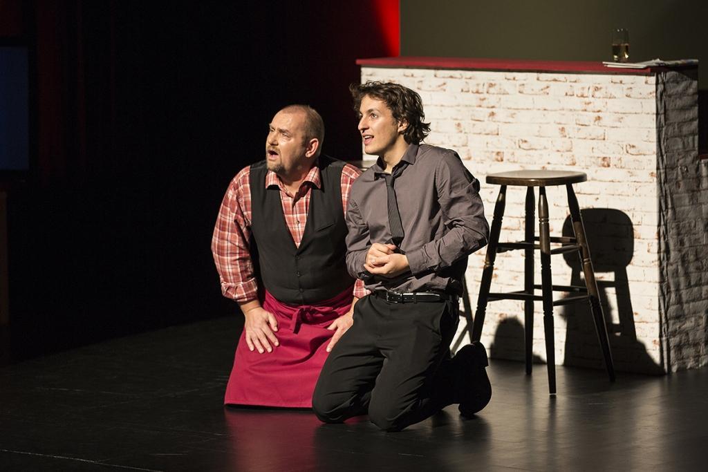 Gledališka predstava BUH POMAGEJ gallery photo no.0