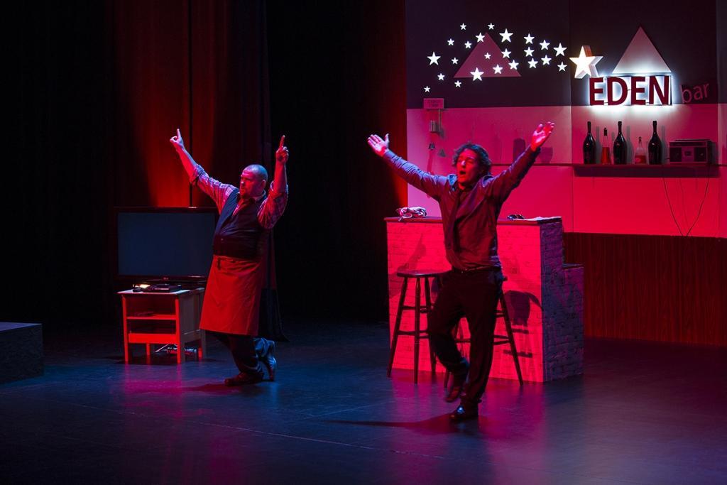 Gledališka predstava BUH POMAGEJ gallery photo no.1
