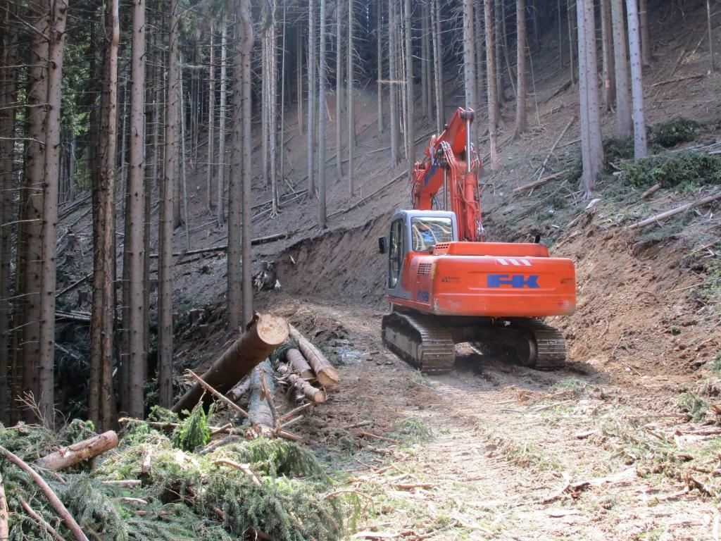Gradnja gozdnih vlak, gradnja gozdnih cest - BAGOZD d.o.o. gallery photo no.4