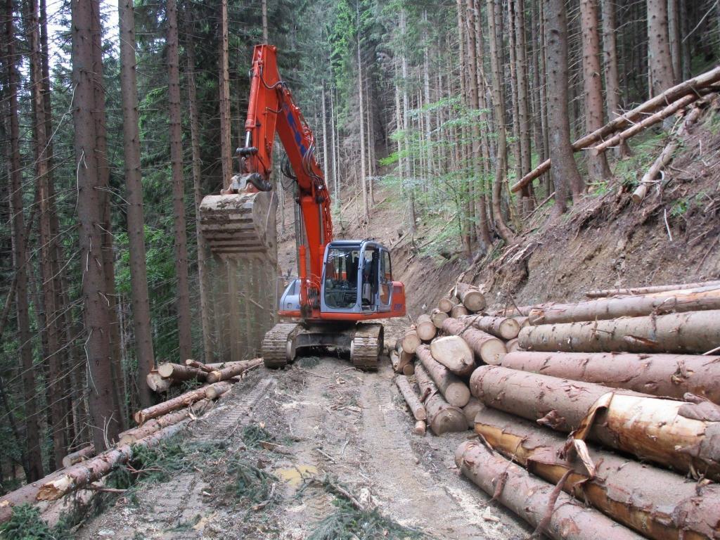 Gradnja gozdnih vlak, gradnja gozdnih cest - BAGOZD d.o.o. gallery photo no.8