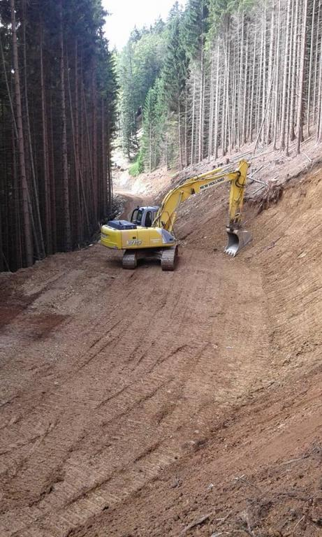 Gradnja gozdnih vlak, gradnja gozdnih cest - BAGOZD d.o.o. gallery photo no.15