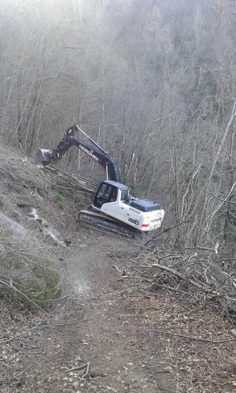 Gradnja gozdnih vlak, gradnja gozdnih cest - BAGOZD d.o.o. gallery photo no.21