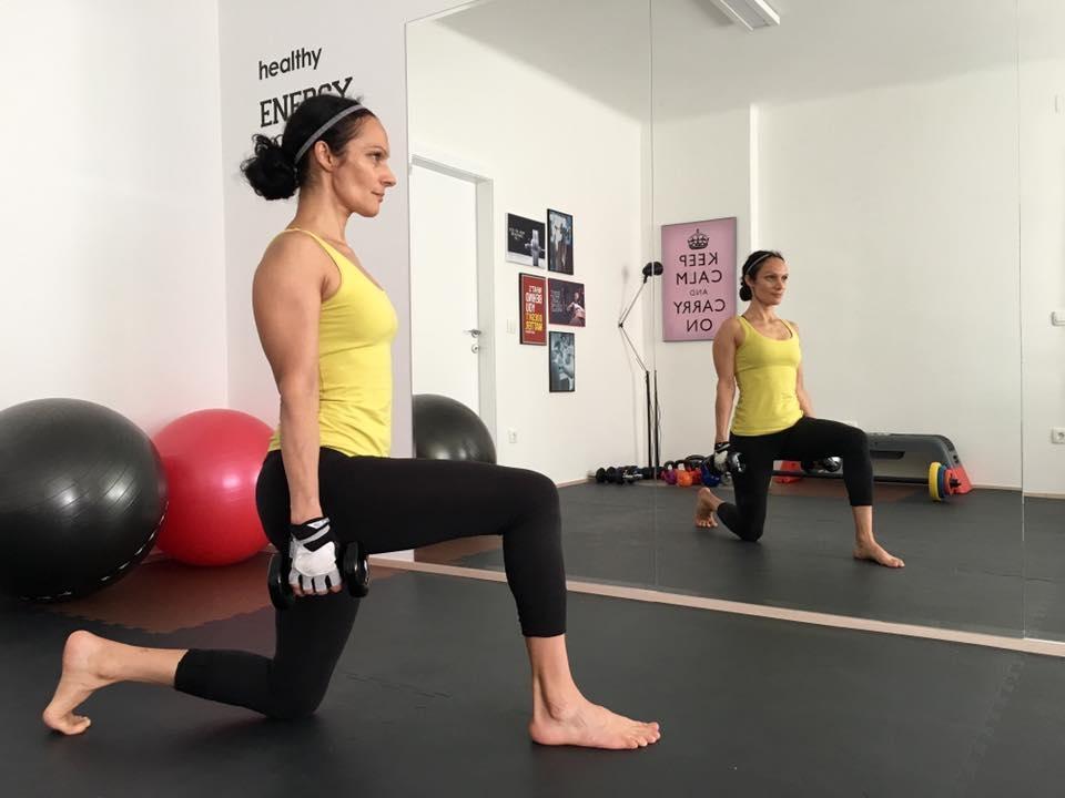 Individualno, osebno trenerstvo, osebni trening po meri, osebna fitnes trenerka, Ljubljana gallery photo no.5